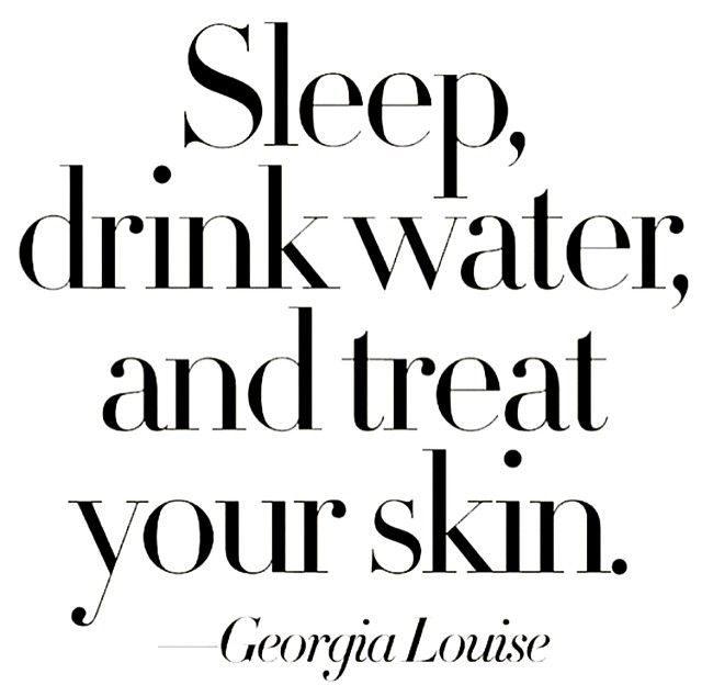 Skincare quote
